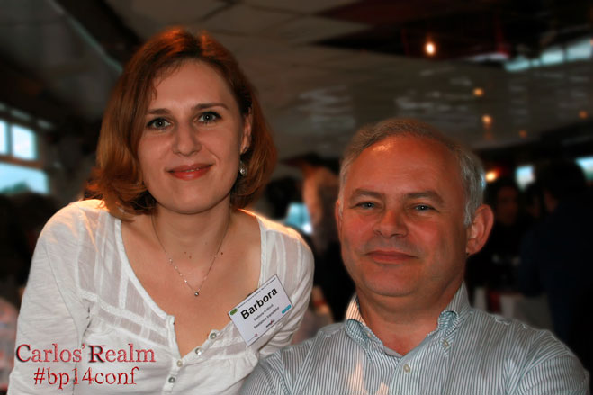 Barbora Kralova and Yves Champollion #bp14conf