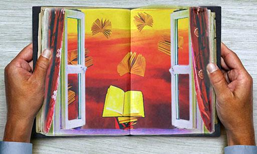 Bücher sind Fenster